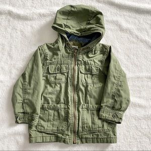 Old Navy Military Green Boy's Jacket - Size 4T